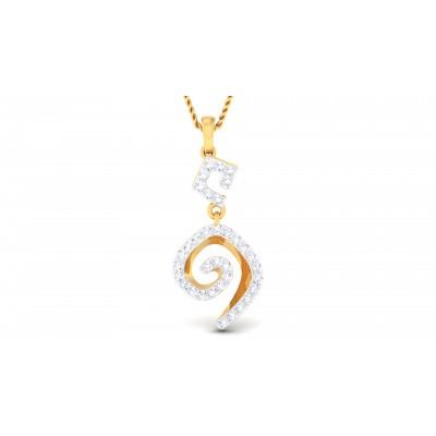 Yasemin Diamond Pendant