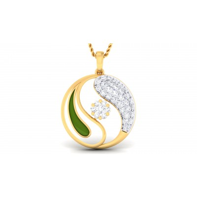 Yelenne Diamond Pendant