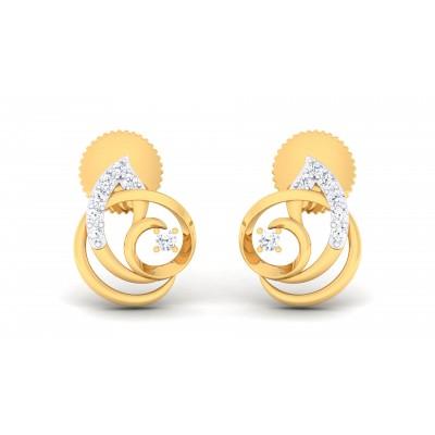Yelizaveta Diamond Earring