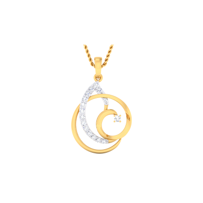 Yelizaveta Diamond Pendant