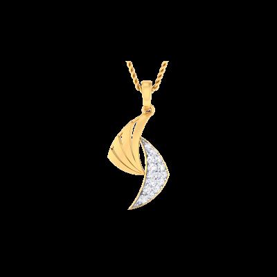 Xanthippe Diamond Pendant