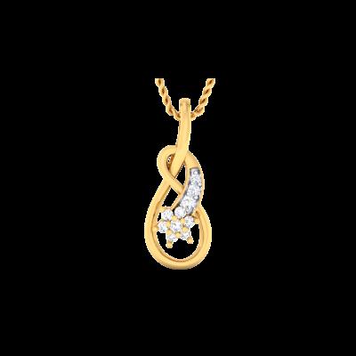 Xanthia Diamond Pendant