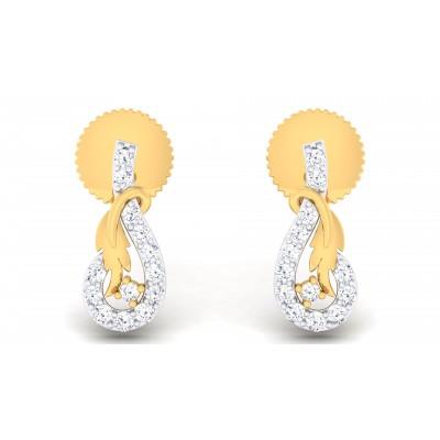 Xenobia Diamond Earring
