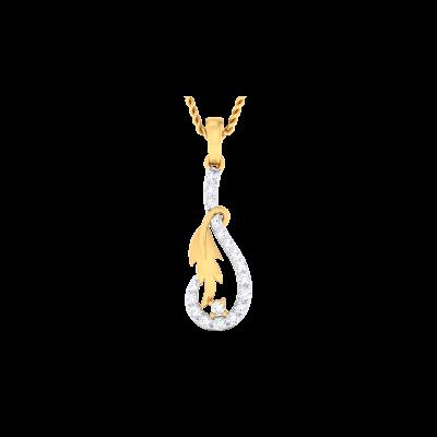 Xenobia Diamond Pendant