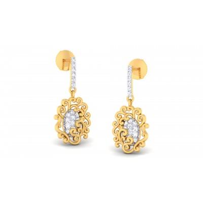 Sabrah Diamond Earring