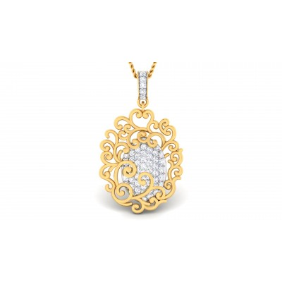 Sabrah Diamond Pendant