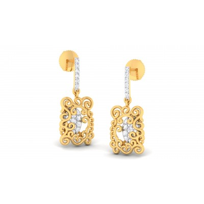 Sabrette Diamond Earring
