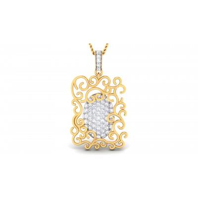Sabrette Diamond Pendant
