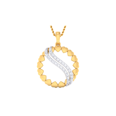 Laetitia Diamond Pendant
