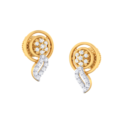 Laiticia Diamond Earring