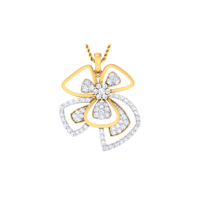 Lamia Diamond Pendant
