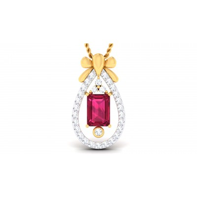 Aluna Diamond Pendant