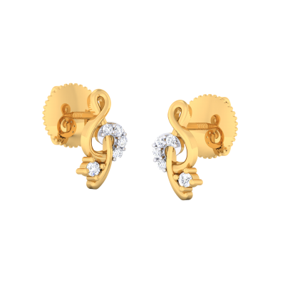 Langleah Diamond Earring