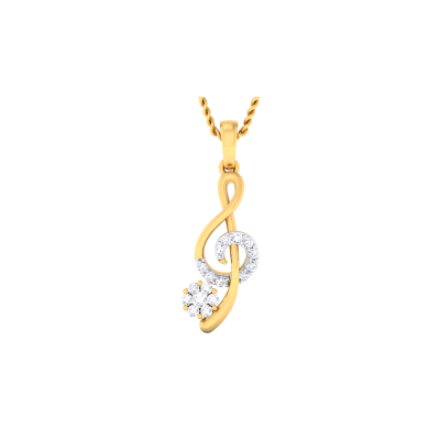 Langleah Diamond Pendant