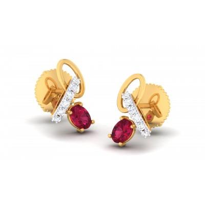 Ahnika Diamond Earring