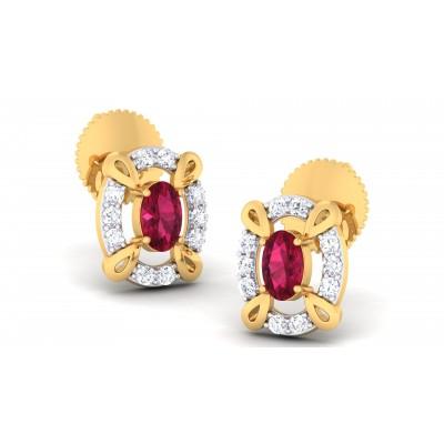 Afiya Diamond Earring