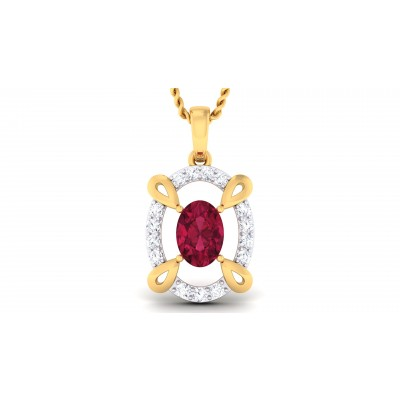 Afiya Diamond Pendant