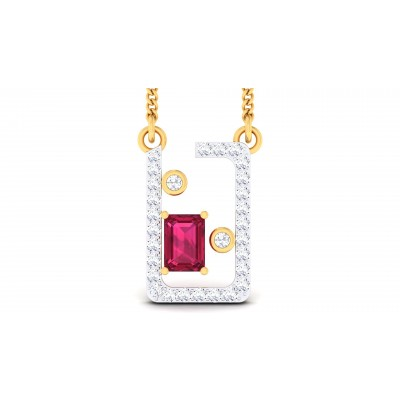 Feechi Diamond Pendant