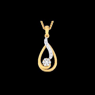 Laquita Diamond Pendant