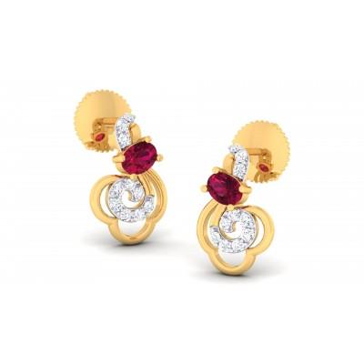 Aaric Diamond Earring