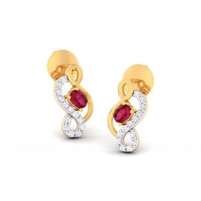 Bunme Diamond Earring