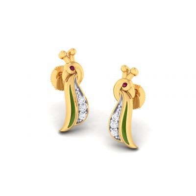 Rozelinda Diamond Earring