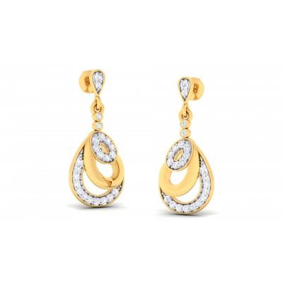 Rubyr Diamond Earring