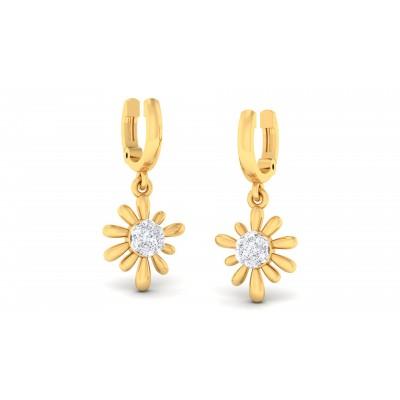 Ruriko Diamond Earring