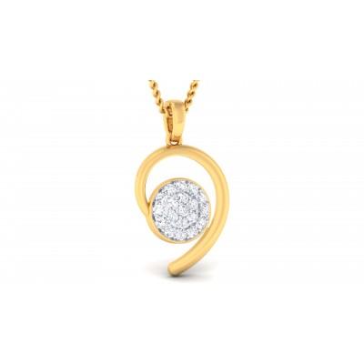 Ruzenka Diamond Pendant