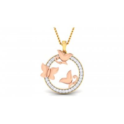 Ruelle Diamond Pendant