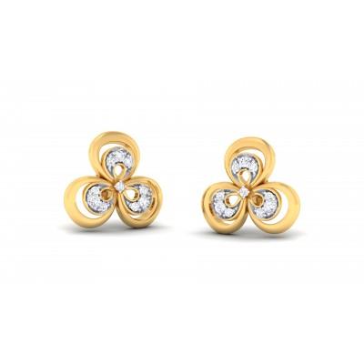 Hurricane Diamond Earring