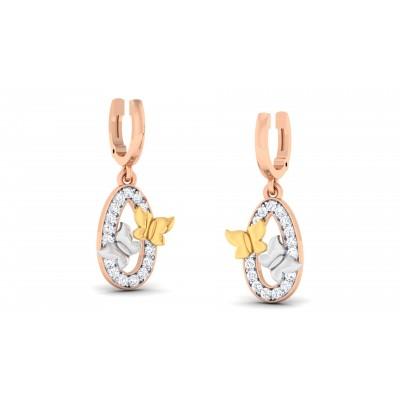 Heidrun Diamond Earring