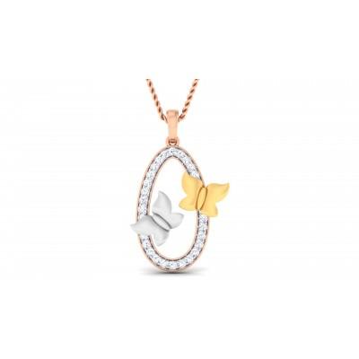 Heidrun Diamond Pendant