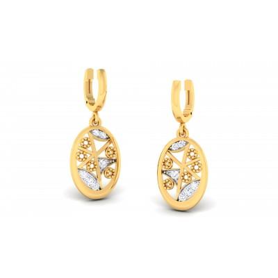 Huali Diamond Earring