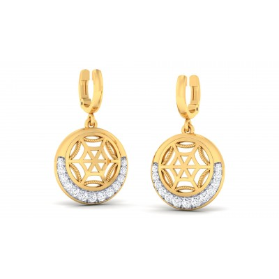 Hyacinth Diamond Earring