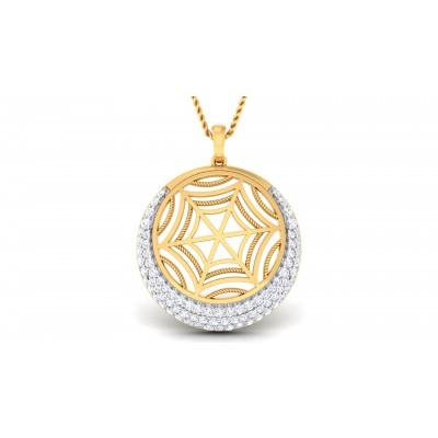 Hyacinth Diamond Pendant