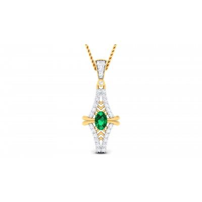 Gakeri Diamond Pendant