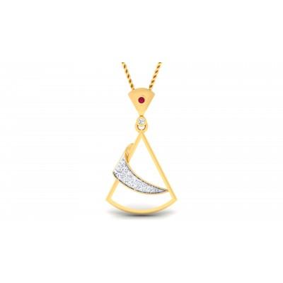 Ghanima  Diamond Pendant