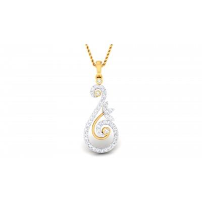 Columbia Diamond Pendant