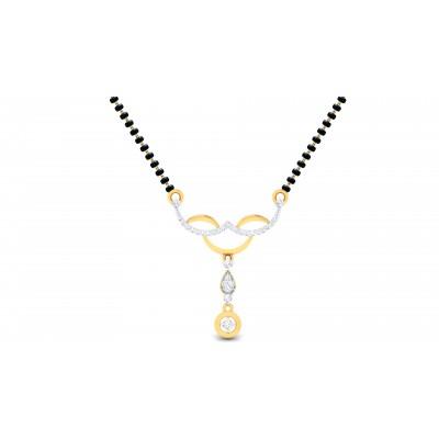 Desdemona Diamond Mangalsutra