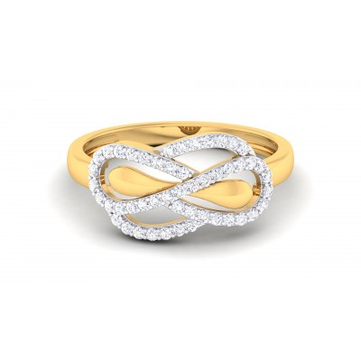 Attachment with u Diamond Ring