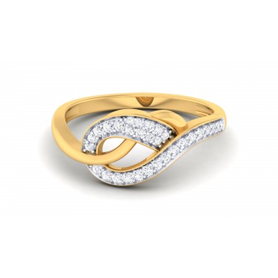 Glittering Diamond Ring