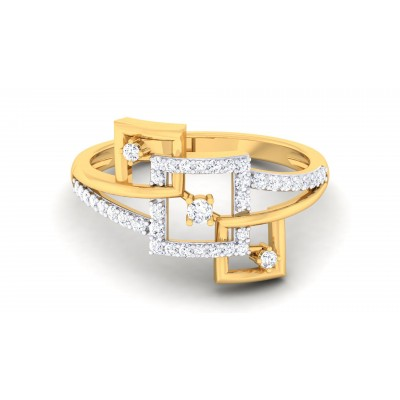 Blossom Diamond Ring