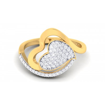 Heartable Diamond Ring