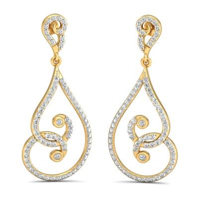 Miriah Diamond Earring