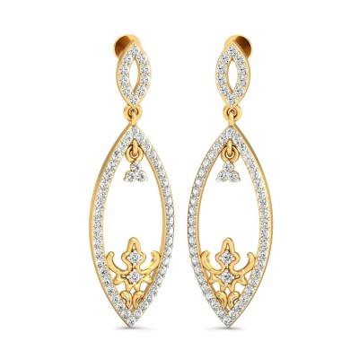 Trinty Diamond Earring