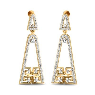 Latin Diamond Earring