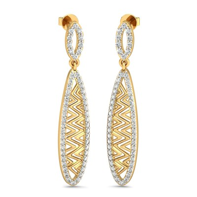 Madison Diamond Earring