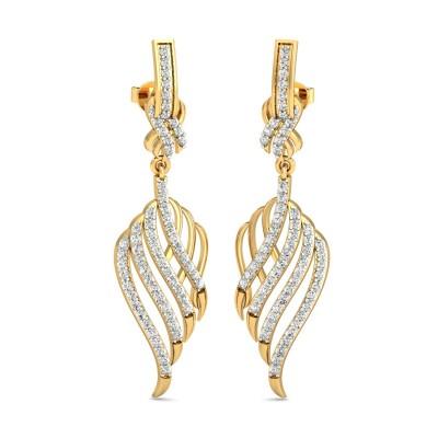 Celtic Diamond Earring