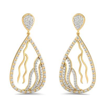 Julia Diamond Earring